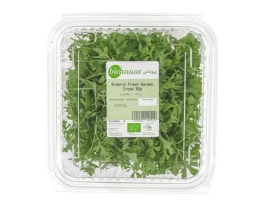 Cress Organic Leaves أوراق رشاد عضوي (Box) - Biomass