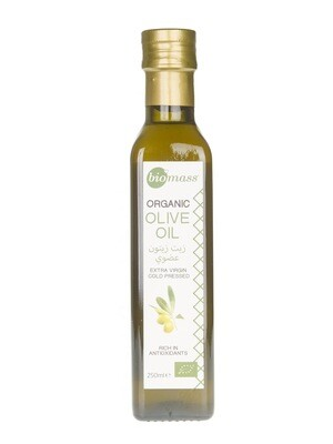 Olive Oil Extra Virgin Organic زيت زيتون بكر ممتاز عضوي (Bottle) - Biomass