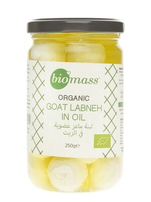 Labneh Goat (Plain) in Olive Oil Organic لبنة ماعز عضوية (سادة) بزيت الزيتون - Biomass