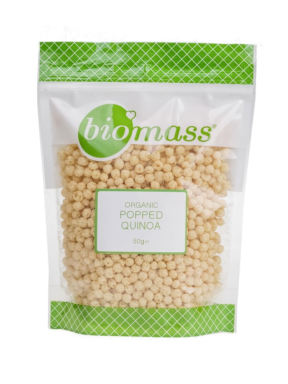 Quinoa Popped Organic كينوا بوشار عضوي (Bag) - Biomass