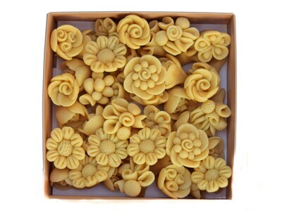 Marzipan Handcrafted Mix Flowers (Box) - Le Marzipan de Zouk