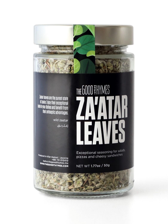Thyme / Zaatar Leaves أوراق الزعتر (Jar) - The Good Thymes