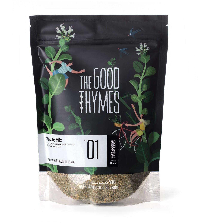 Thyme / Zaatar Classic Mix مزيج الزعتر اللبناني (Bag) - The Good Thymes