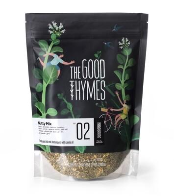 Thyme / Zaatar Nutty Mix  خليط الزعتر بالمكسرات (Bag) - The Good Thymes