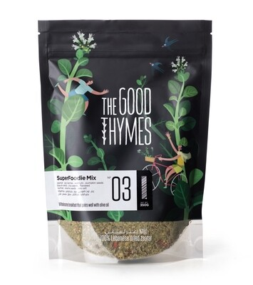 Thyme / Zaatar Superfoodie Mix خليط سوبرفوود الزعتر (Bag) - The Good Thymes