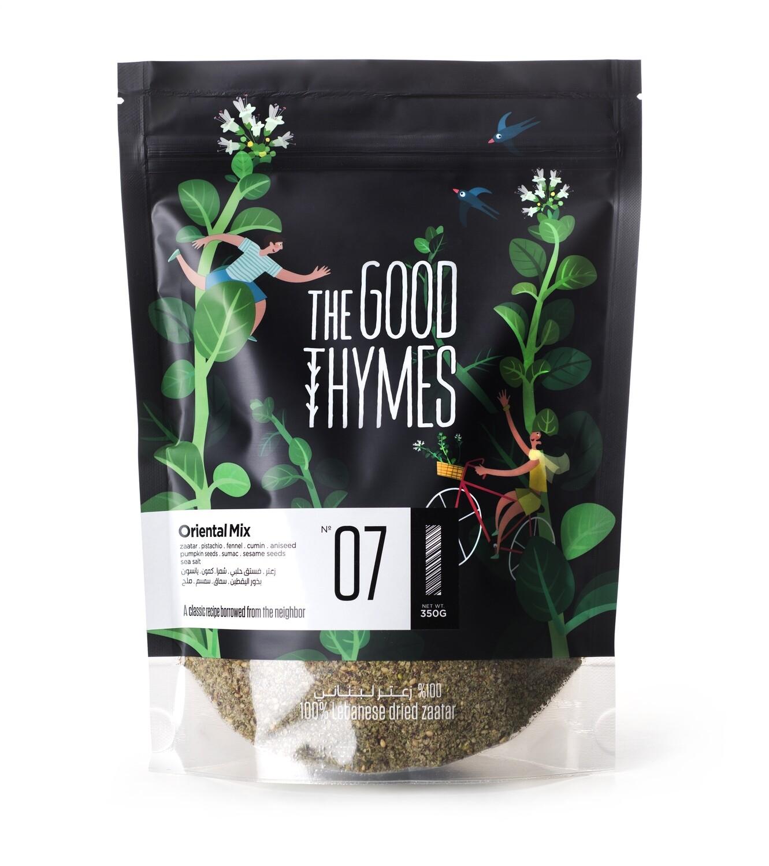 Thyme / Zaatar Oriental Mix زعتر مشكل شرقي (Bag) - The Good Thymes