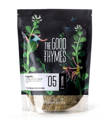 Thyme / Zaatar Fruity Mix خليط الزعتر فاكهي (Bag) - The Good Thymes