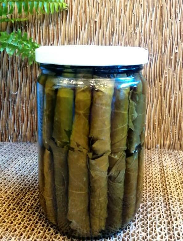 Vine Leaves stuffed with Goat Labneh ورق عنب محشي لبنة معزي (Jar) - MBN Premium