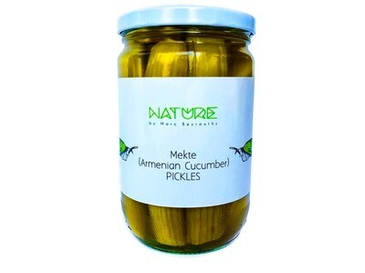 Wild Cucumber Pickles كبيس مقتي (Jar) - Nature by Marc Beyrouthy