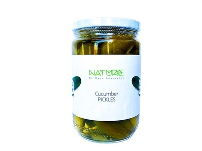 Cucumber Pickles كبيس خيار (Jar) - Nature by Marc Beyrouthy