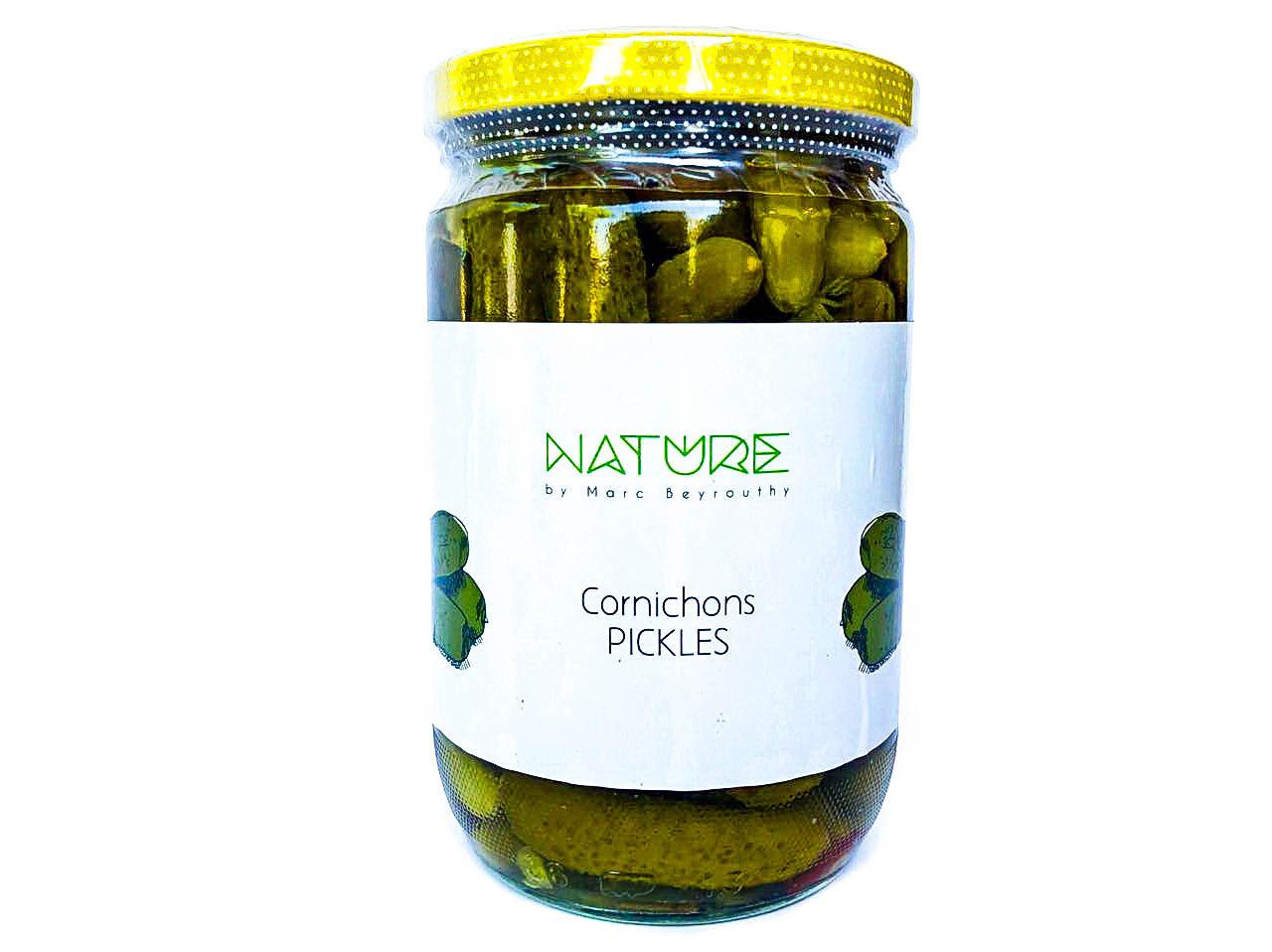 Cornichon Pickles كبيس كورنيشون (Jar) - Nature by Marc Beyrouthy