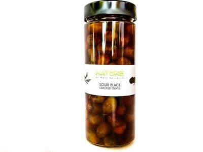 Olives Black زيتون أسود (Jar) - Nature by Marc Beyrouthy