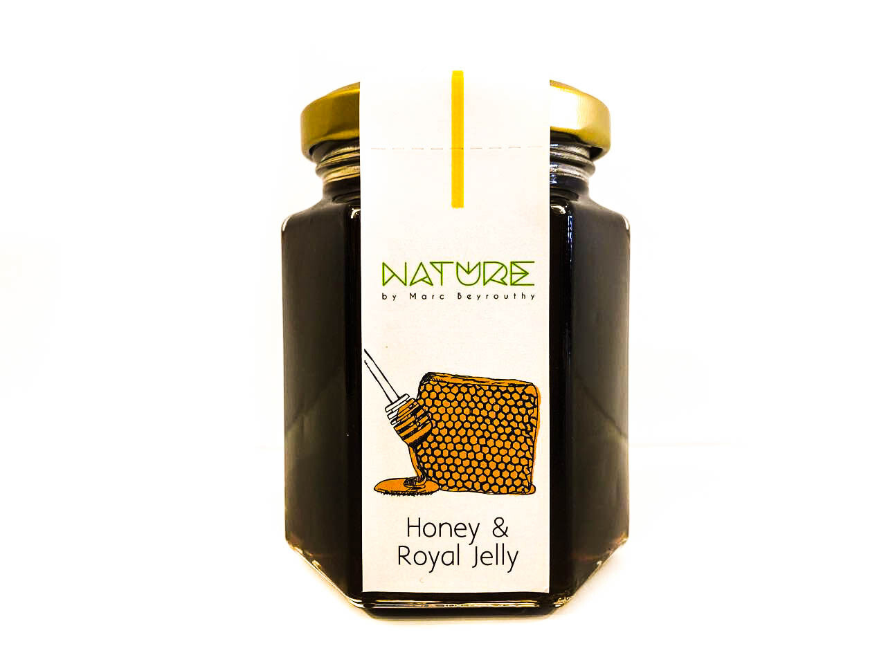Honey & Royal Jelly العسل و الهلام الملكي (Jar) - Nature by Marc Beyrouthy