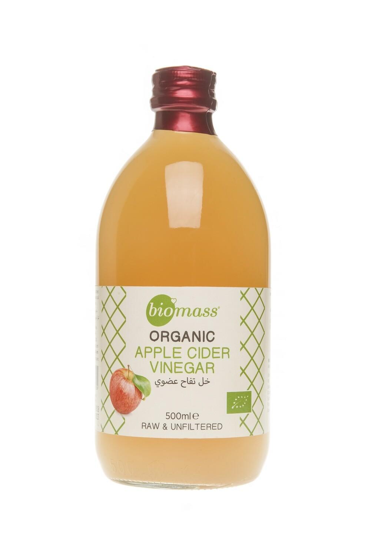 Vinegar Apple Organic خل التفاح (Bottle) - Biomass