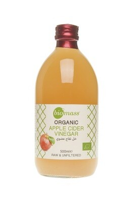 Vinegar Apple Organic خل التفاح (Bottle) - Biomass