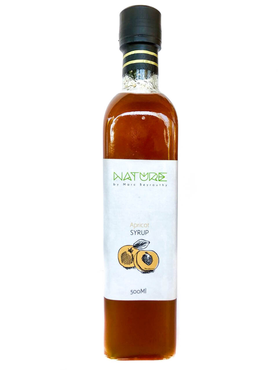 Syrup Apricot شراب المشمش (Bottle) - Nature by Marc Beyrouthy