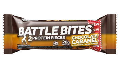 Energy Bar Chocolate Carmel (Bar) - Battle Bites