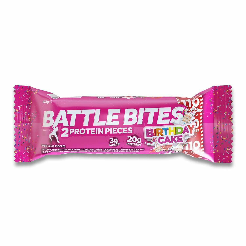 Bar Energy Birthday Cake (Bar) - Battle Bites
