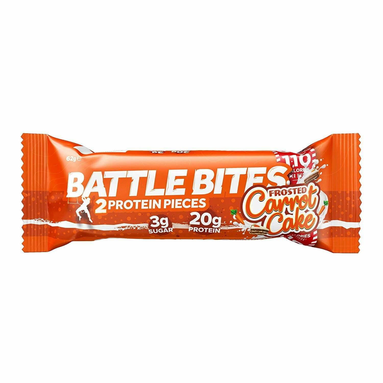 Bar Energy Carrot Cake (Bar) - Battle Bites
