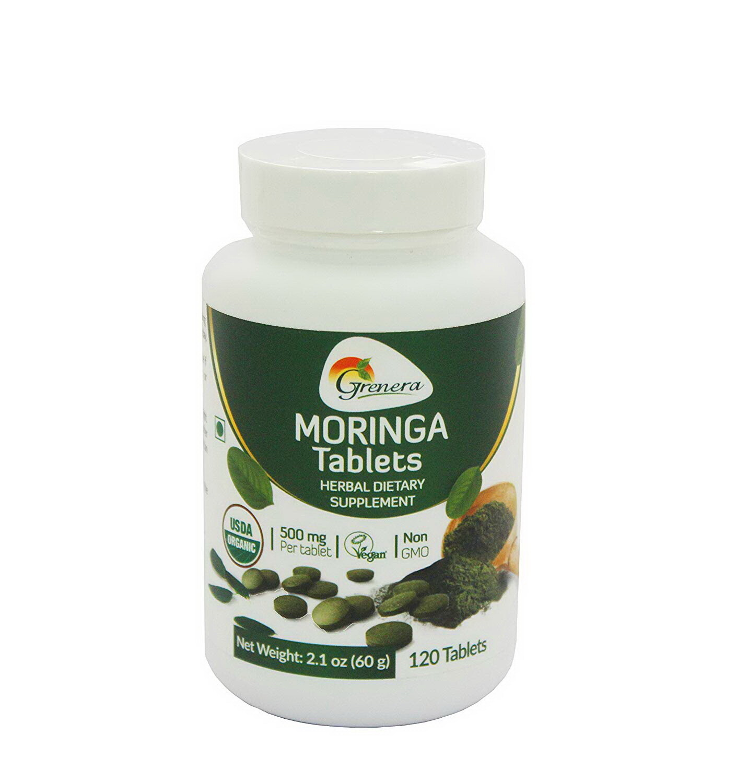 Moringa Oleifera Tablets مورينجا اوليفيرا أقراص (Box) - Greenera