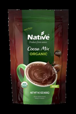 Cocoa Organic Instant Mix Powder مسحوق خليط الكاكاو العضوي (Jar) - Native
