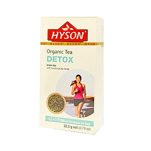 Detox Organic Tea شاي عضوي للتخلص من السموم (Box) - Hyson