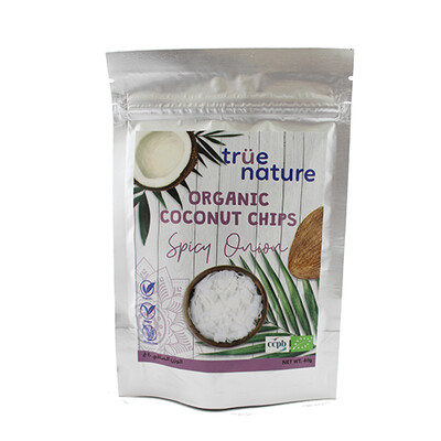 Chips Spicy Onion Coconut Organic شيبس بصل حار بجوز الهند عضوي (Bag) - True Nature