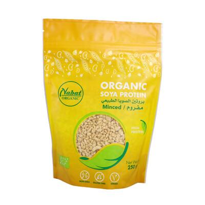Soya Protein Minced Organic قطع بروتين الصويا عضوي (Bag) - Nabat