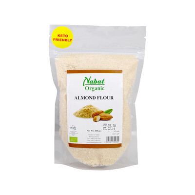 Almond Flour Organic دقيق اللوز عضوي (Bag) - Nabat