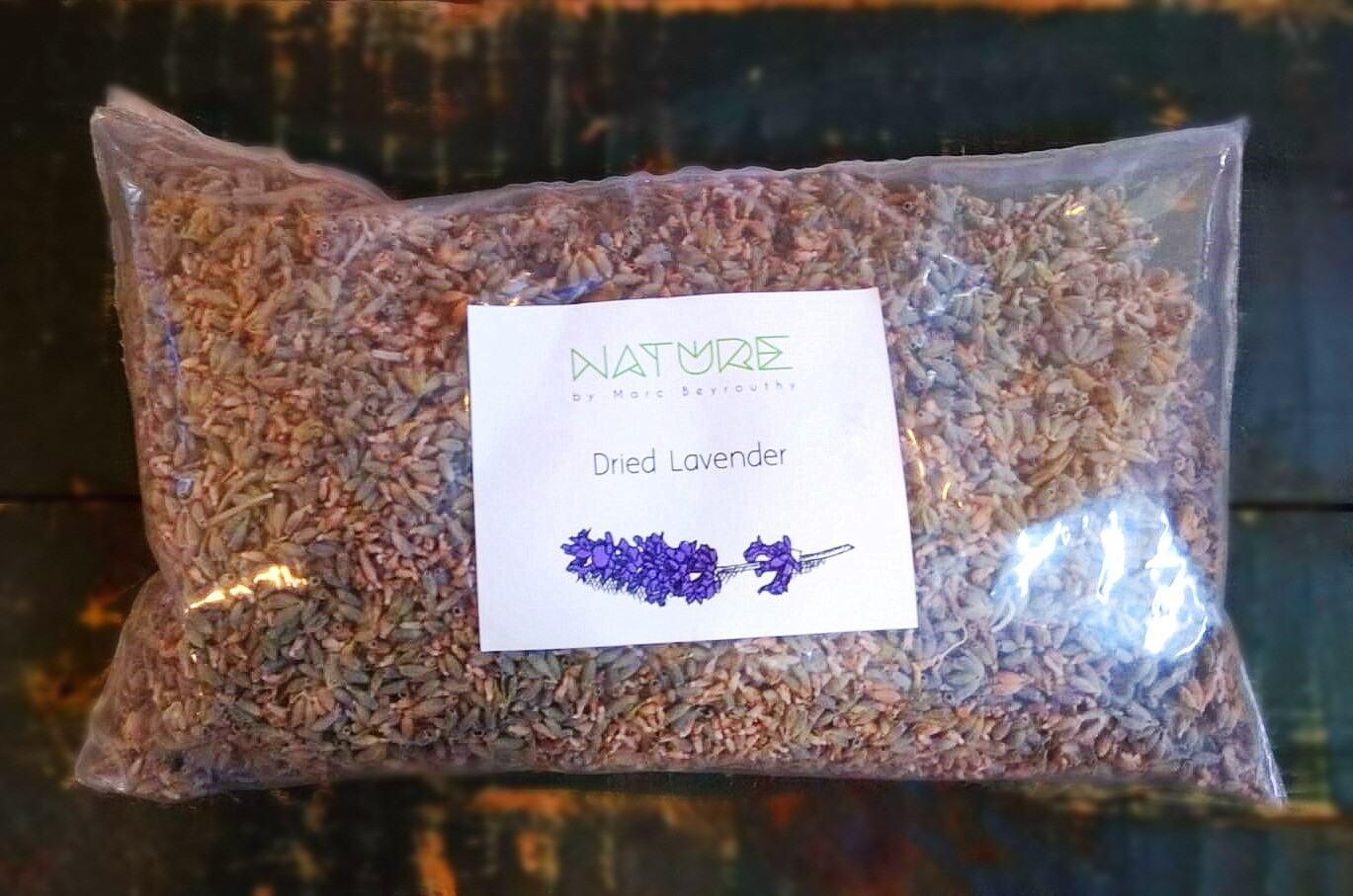 Lavender Dried الخزامى المجفف (Bag) - Nature by Marc Beyrouthy
