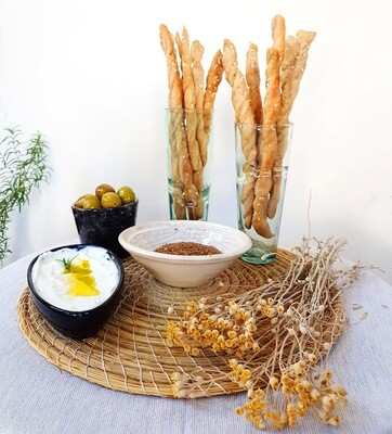Breadsticks أصابع الخبز (Bunch) - Crafting Delices