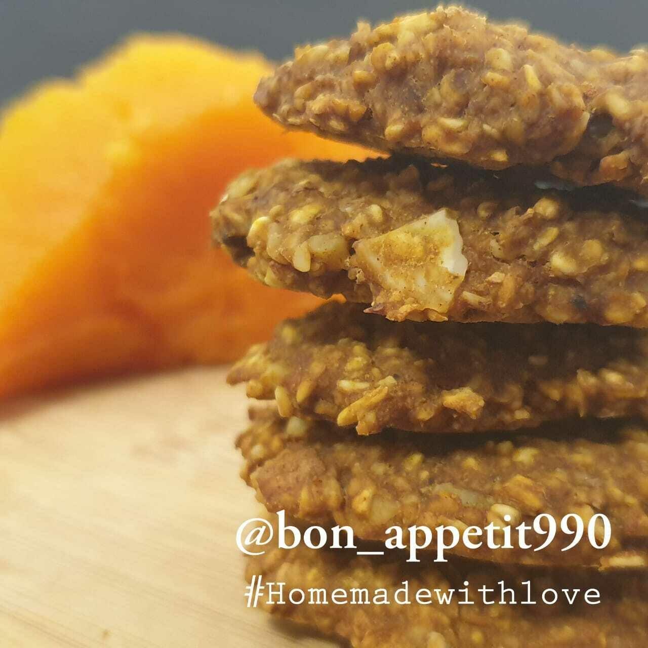 Cookies Pumpkin بسكويت القرع (Box) - Bon Appetit