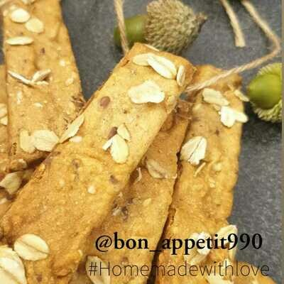 Crackers Nuts & Seeds المكسرات والبذور كراكرز (Box) - Bon Appetit
