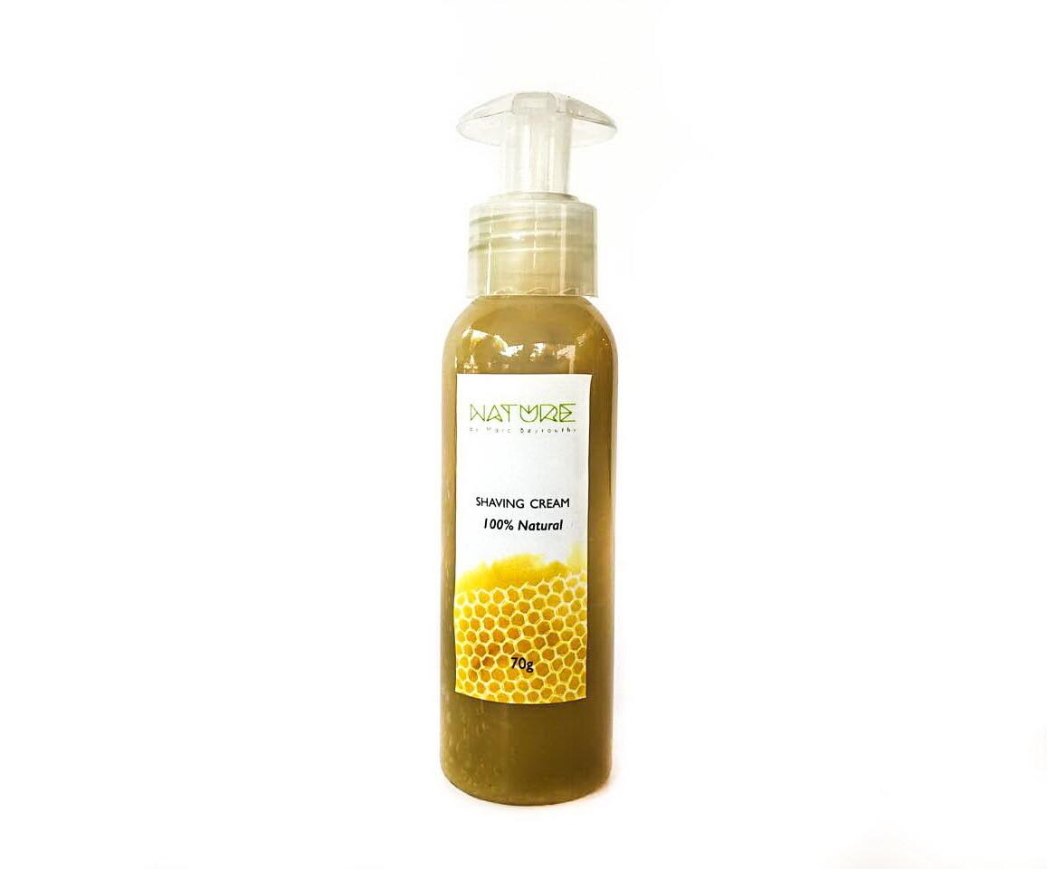 Shaving Cream كريم الحلاقة (Bottle) - Honey Cosmetics