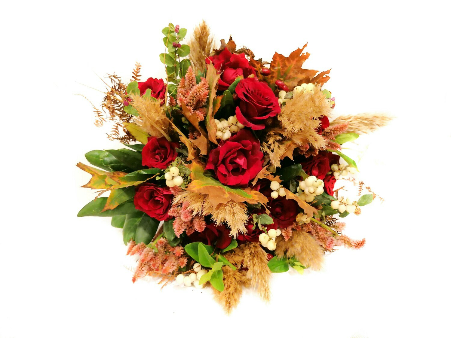 Stylish Red (Bouquet) - Flowers by NatureBMB
