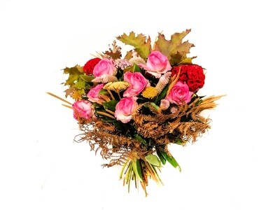 Wonderful in Pink (Bouquet) - Flowers by NatureBMB