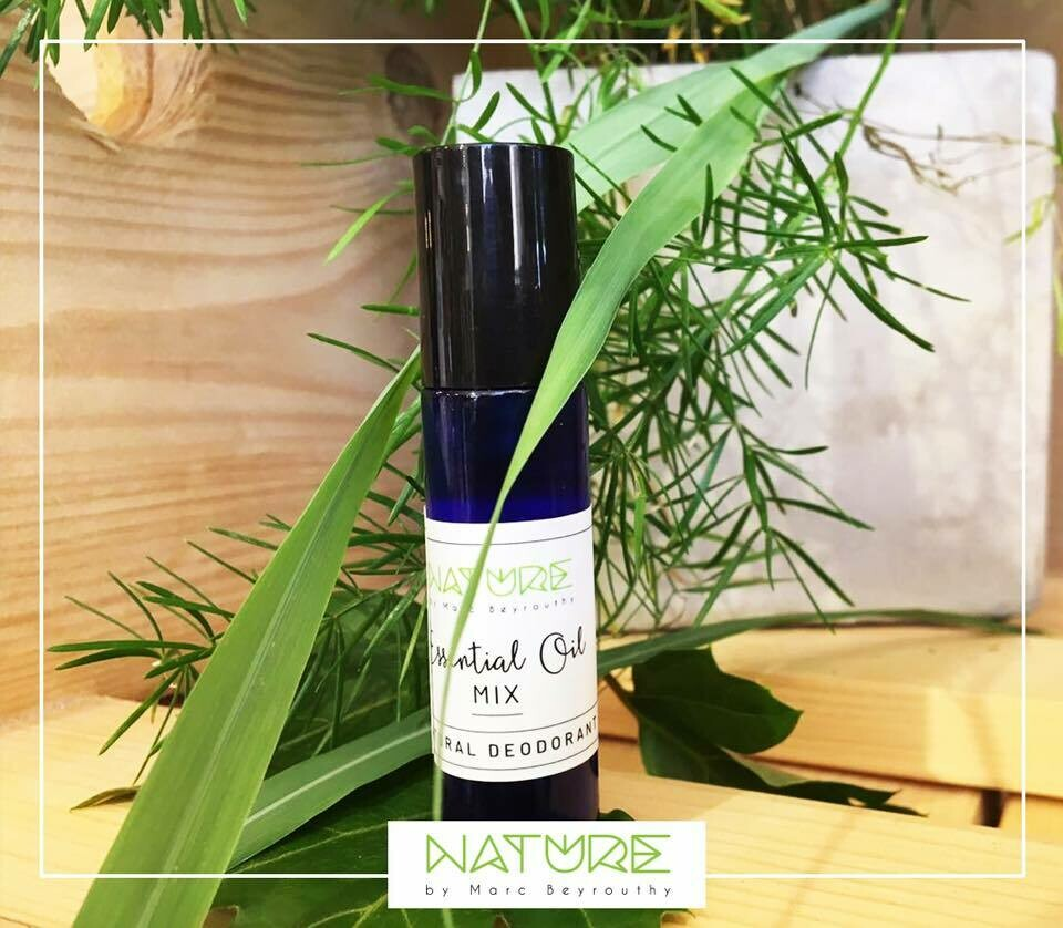 Essential Oils Natural Deodorant (Roll) - Nature by Marc Beyrouthy