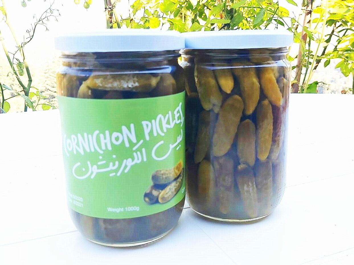 Cornichon Pickels مخلل الكورنيشون (Jar) - Les Reserves du Grenier