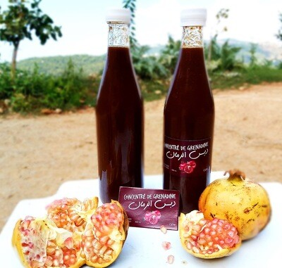 Molasse Pomegranate  دبس الرمان (Bottle) - Les Reserves du Grenier