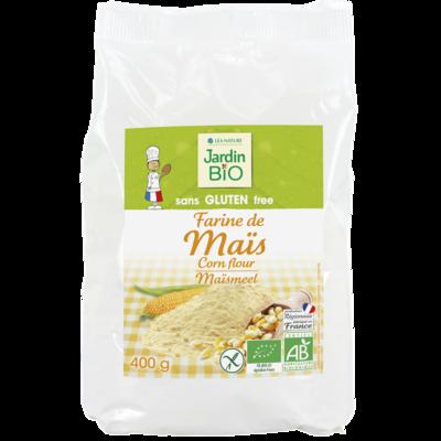 Farine De Mais Sans Gluten Bio دقيق الذرة العضوي الخالي من الجلوتين (Bag) - Jardin Bio