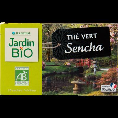 The Vert Sencha شاي أخضر سينشا (Box) - Jardin Bio