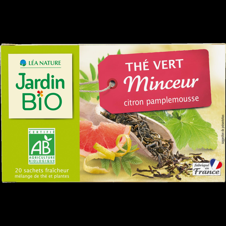The Vert Minceur Bio شاي التخسيس الأخضر (Box) - Jardin Bio