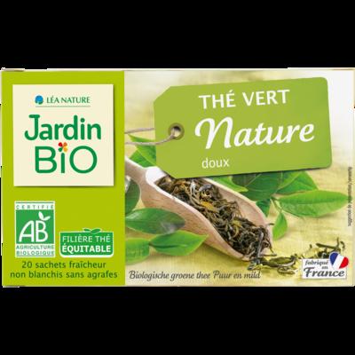Thé Vert Doux شاي أخضر حلو (Box) - Jardin Bio