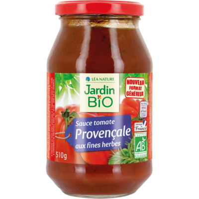 Sauce Tomate Provencale Bio صلصة طماطم بروفنسال عضوية (Jar) - Jardin Bio