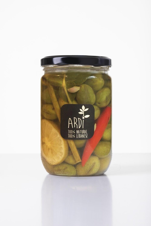 Green Olives الزيتون الأخضر (Jar) - ARDI