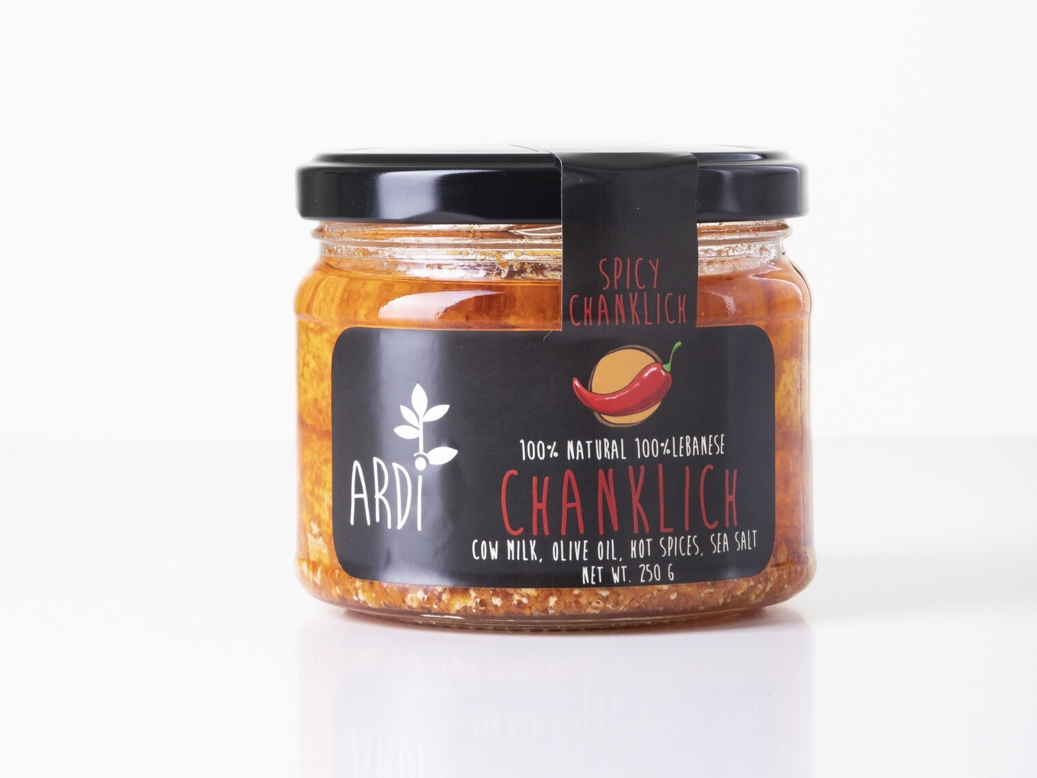 Chanklich Spicy شنكليش حار (Jar) - ARDI