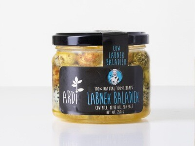 Labneh Cow Baladieh Fusion لبنة بقري بلديه (Jar) - ARDI