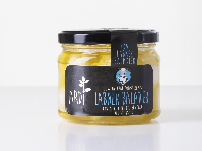 Labneh Cow Baladieh لبنة بقري بلديه (Jar) - ARDI