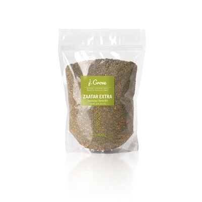 Thyme / Zaatar Extra Traditional Mix خلطة الزعتر (Bag) - J.Grove