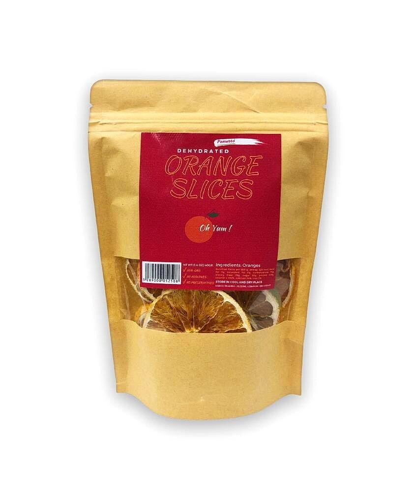 Orange Slices Dehydrated شرائح البرتقال المجففة (Bag) - Pometto